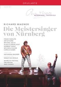 Richard Wagner. Die Meistersinger von Nürnberg. I maestri cantori di Norimberga (2 DVD) - DVD