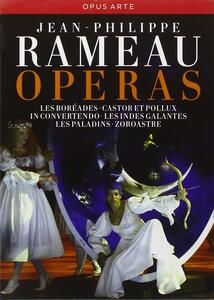 Jean-Philippe Rameau. Opere (11 DVD) di Pierre Audi,Robert Carsen,Thomas Grimm