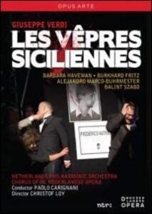 Giuseppe Verdi. Les vêpres siciliennes. I vespri siciliani (2 DVD) di Christof Loy - DVD