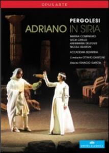 Giovanni Battista Pergolesi. Adriano in Siria (2 DVD) di Ignacio Garcia - DVD