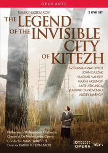 Nikolai Rimsky-Korsakov. The Legend of the Invisible City of Kitezh (2 DVD) di Dmitri Tcherniakov - DVD