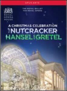 A Christmas Celebration. The Nutcracker. Hansel and Gretel (3 DVD) di Patrice Caurier,Moshe Leiser
