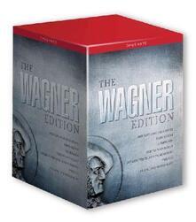 Richard Wagner. The Wagner Edition (25 DVD) di Kasper Bech Holter,Martin Ku?ej,Harry Kupfer,Nikolaus Lehnhoff,Nicholaus Lenhoff