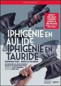 Christoph Willibald Gluck. Iphigénie en Aulide & Iphigénie en Tauride (2 DVD) di Pierre Audi - DVD