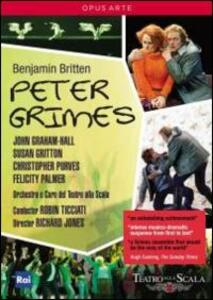 Benjamin Britten. Peter Grimes di Richard Jones - DVD