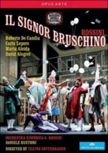 Gioachino Rossini. Il Signor Bruschino - DVD