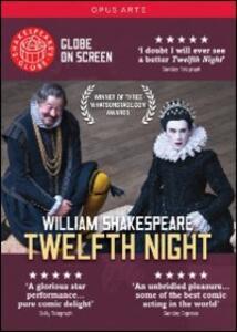 Claire Van Kampen. William Shakespeare. Twelfth Night. La dodicesima notte di Tim Carroll - DVD