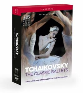 Tchaikovsky. The Classic Ballets (3 DVD) di Anthony Dowell,Peter Wright