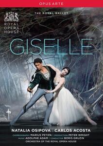 Adam Adolphe. Giselle - DVD