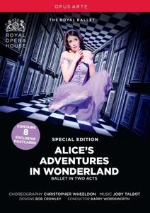 Joby Talbot. Alice's Adventures in Wonderland<span>.</span> Edizione speciale - DVD