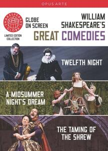 Great Comediae: The Taming of the Shrew, Twelfth Night (3 DVD) - DVD