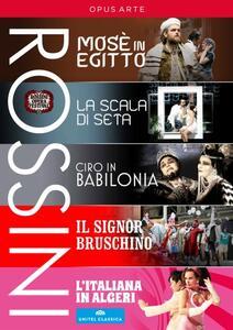 Gioachino Rossini. Rossini Festival Collection (5 DVD) - DVD