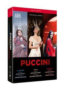 Giacomo Puccini. Puccini Box Set: La Bohème, Tosca, Turandot (3 DVD) - DVD