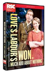 William Shakespeare. Love's Labours Won Or Much Ado About Nothing di Simon Godwin - DVD