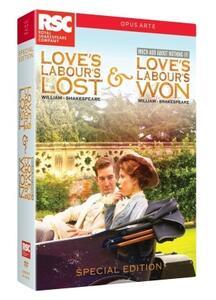 William Shakespeare. Love's Labour Lost & Loves Labour's Won (2 DVD) - DVD
