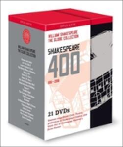 William Shakespeare. Shakespeare 400: The Globe Collection (21 DVD) - DVD