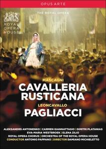 Pietro Mascagni, Cavalleria rusticana. Ruggero Leoncavallo, I pagliacci di Damiano Michieletto - DVD