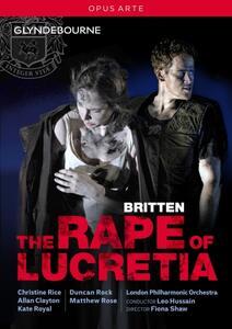 Benjamin Britten. The Rape Of Lucretia - DVD