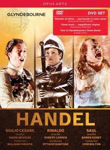 Giulio Cesare, Rinaldo, Saul (5 DVD) - DVD