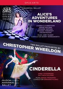 Cenerentola op.87 - Two Ballet Favourites by Christopher Wheeldon (2 DVD) - DVD