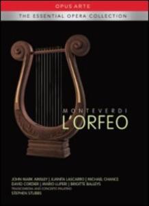 Claudio Monteverdi. L'Orfeo di Pierre Audi - DVD