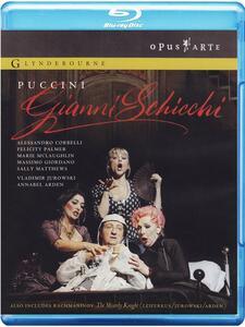 Puccini, Gianni Schicci. Rachmaninoff, The Miserly Knight - Blu-ray