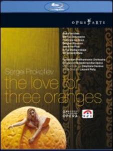 Sergei Prokofiev. L'Amore delle Tre Melarance. The Love for Three Oranges di Laurent Pelly - Blu-ray