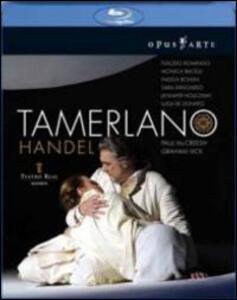 Georg Friedrich Handel. Tamerlano (2 Blu-ray) di Graham Vick - Blu-ray