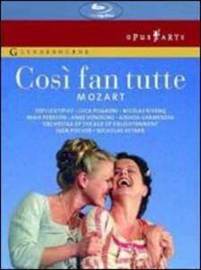 Wolfgang Amadeus Mozart. Così fan tutte di Nicholas Hytner - Blu-ray