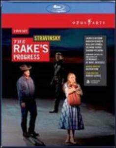 Igor Stravinsky. The Rake's Progress. Carriera di un libertino di Robert Lepage - Blu-ray