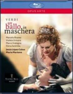 Giuseppe Verdi. Un ballo in maschera di Mario Martone - Blu-ray