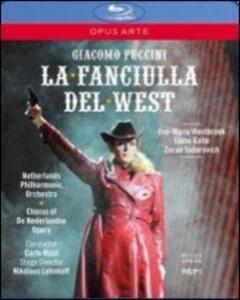 Giacomo Puccini. La Fanciulla del West di Nicholaus Lenhoff - Blu-ray