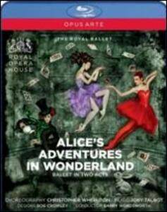 Joby Talbot. Alice's Adventures in Wonderland - Blu-ray