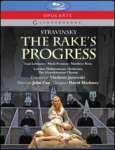 Igor Stravinsky. The Rake's Progress. La carriera di un libertino di John Cox - Blu-ray