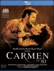 Film Georges Bizet. Carmen 3D Francesca Zambello