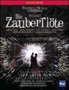 Wolfgang Amadeus Mozart. Die Zauberflote. Il Flauto Magico di William Kentridge - Blu-ray