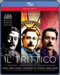 Giacomo Puccini. Il trittico: Il Tabarro, Suor Angelica,Gianni Schicchi - Blu-ray