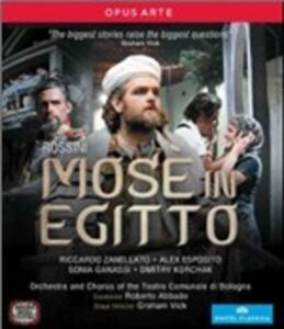 Giacchinio Rossini. Mosè in Egitto di Graham Vick - Blu-ray
