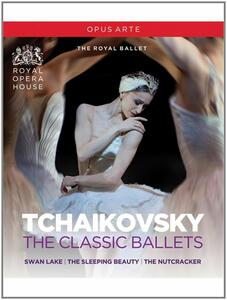 Tchaikovsky. The Classic Ballets (3 Blu-ray)