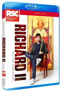 William Shakespeare. Riccardo II di Gregory Doran - Blu-ray