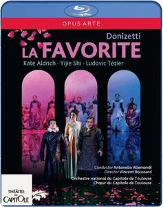 Gaetano Donizetti. La Favorita - Blu-ray