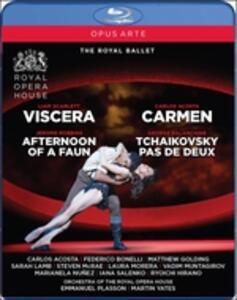 Claude Debussy. Carmen (arr.martin Yates, Coreografia Di Carlos Acosta) - Blu-ray