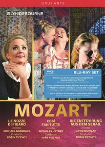 Così fan tutte - Il ratto dal serraglio Le nozze di Figaro (3 Blu-ray) - Blu-ray