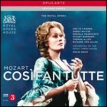 Così fan tutte - CD Audio di Wolfgang Amadeus Mozart,Sir Colin Davis,Kiri Te Kanawa,Agnes Baltsa,Thomas Allen,Stuart Burrows,Covent Garden Orchestra