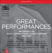 Royal Opera House. Great performances 1955-1997 - CD Audio