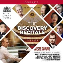 The Discovery Recitals. Jette Parker Young Artists - CD Audio di Ludwig van Beethoven,Sergej Vasilevich Rachmaninov,George Crumb,Francesca Chiejina,David Shipley