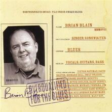 Overqualified for the Blues - CD Audio di Brian Blain
