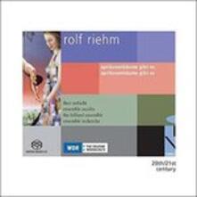 Aprikosenbaume Gibt Es Aprikosenbaume Gibt - SuperAudio CD di Rolf Riehm