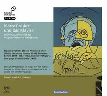Pierre Boulez e Il Pianoforte - SuperAudio CD di Pierre Boulez,Dimitri Vassilakis
