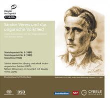 Sandor Veress and Hungarian Folksong - SuperAudio CD di Sandor Veress,Doelen Quartet